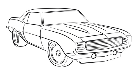 LEARN HOW TO DRAW A RACE CAR TODAY