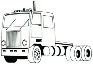 learn to draw semi truck